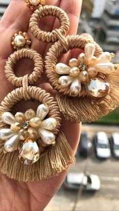 Indian Earrings, Soutache Earrings, Tribal Earrings, Red Earrings, Seed Bead Earrings, Unique Earrings, Fashion Earrings, Earrings Handmade, Handmade Jewelry