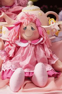 free pink doll and dress patterns