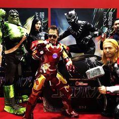Tokyo ComicCon 2017. Avengers Assemble.