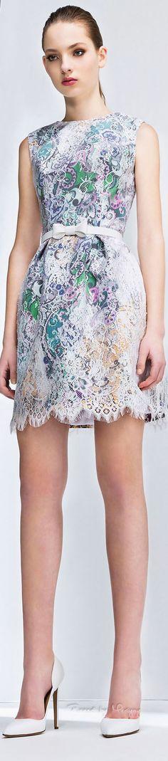 ♔ f l e u r  b o u q u e t {Flowers Fleur Fashion} Georges Hobeika Fall-winter 2015