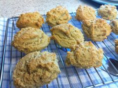 Almond Flour Scones // click through to get to Linda's (Gena's) website for more info how to use these scones ... she always tests recipes first and tells the pros and cons ... these got 4* ...