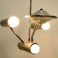 OMG!! 1960s Star Trek ceiling light!