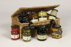 Create a perfect Christmas hamper with products from Opies. www.b-opie.com
