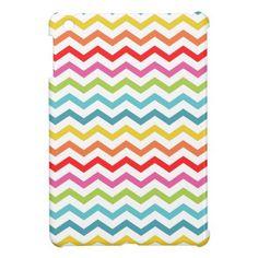 PixDezines chevron/diy background color iPad Mini Case