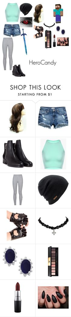 """""""HeroCandy"""" by emma0502 on Polyvore featuring Rika, 3.1 Phillip Lim, NIKE, Coal, Yves Saint Laurent and MAC Cosmetics"""