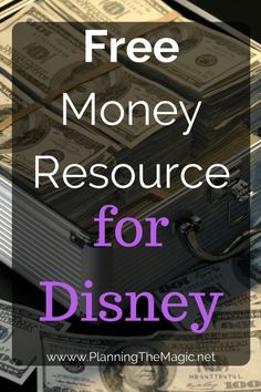 Are you a fan of earning FREE money? With my Free Money with Ebates guide, you won't go wrong! Learn how to make more for Disney NOW. Disney Money, Disney Now, Disney On A Budget, Disney Planning Binder, Disney World Planning, Walt Disney World, Disney Parks, Disney World Tips And Tricks, Disney Tips