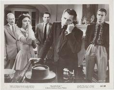 Donna Reed + Glenn Ford + Leslie Nielsen 1956 Vintage 8x10 STILL PHOTO Ransom 1685-45