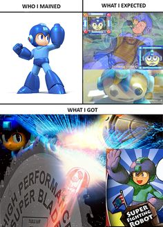 What I expected Super Smash Bros. pt 2