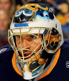 NHL Goalie Masks by Team ('09-'10) - Patrick Lalime | Sports Illustrated Kids