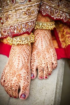 Beautiful henna...