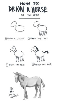 Um - yeah - this is how drawing lessons would feel for me - except that I NEVER get to that last one!