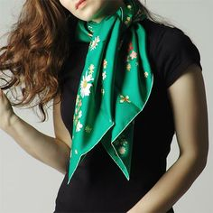 Hermes Silk Twill Scarf Multi-colored 002410s 04 - Dobestbuy