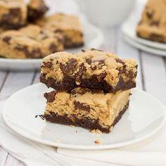 """Chocolate chip cookie """"brownies"""""""