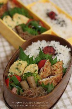 やった~ \(*^▽^*)/ ☆ 今日のお弁当♪ : ** mana's Kitchen **