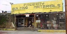 Freeway Building Materials -common and hard-to-find objects for sale and rental - objects of superior design, quality and value.