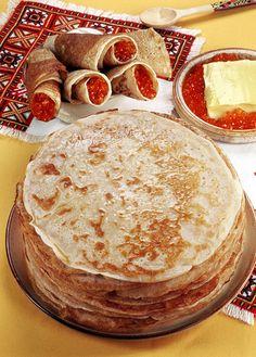. #Russian Cuisine: pancakes