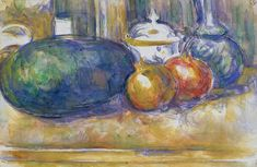 Paul Cezanne Still Life With Watermelon And Pemegranates Oil Painting Reproductions for sale Cezanne Still Life, Paul Cezanne Paintings, Oil Paintings, Art Sur Toile, Watercolor Painting Techniques, Paul Gauguin, Oil Painting Reproductions, French Artists, Famous Artists