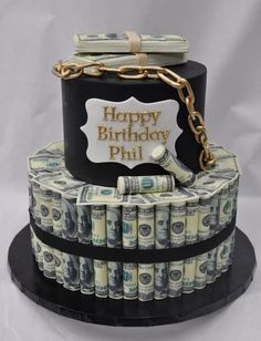 Money Birthday Cake Fin Ish Me Cupcakes The Wealthy Money Cake. Money Birthday Cake Us Dollar Money Cake For Lloyds Birthday Jocakes. Money Birthday Cake 12 Made Out Of 100 Bill Money Cakes Photo Dollar Bill Birthday. Birthday Cakes For Men, Happy Birthday Phil, Money Birthday Cake, Money Cake, 25th Birthday Ideas For Him, Birthday Cake For Boyfriend, Men Birthday, Birthday Gifts, Mini Cakes