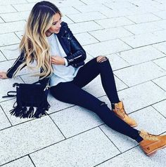 modetrends herbst winter 2017 besten Outfits – Best Of Likes Share Look Fashion, Fashion Outfits, Womens Fashion, Fashion News, Fashion Boots, Fashion Fashion, Camo Fashion, Fashion Hacks, Jeans Fashion