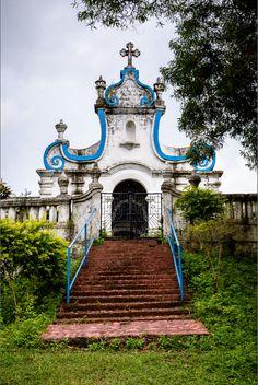 Our Lady of Remedios Church, Goa. Photograph: Adriaan Louw #Goa #India