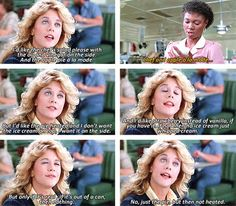 No You're Not High Maintenance....  When Harry Met Sally (1989)