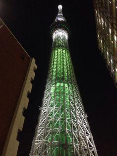 Tokyo SkyTree (green version)