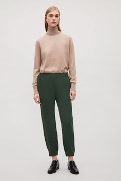 COS | Elastic waist and cuff trousers