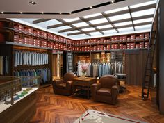 The Armoury was established in Hong Kong in 2010 by Alan See, Ethan Newton and Mark Cho, born from our passion for classic styling and interest in the unique stories behind well-crafted men's products.
