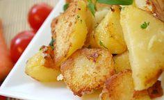 Zutaten und Zubereitung für das Rezept basische Bratkartoffeln