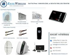 If you want to buy quality WiFi booster Antennas for outdoor, for laptop, cell phone etc. then one of the most trusted place is Excel Wireless. We sell all type of wireless communication accessories. Visit:- https://www.excel-wireless.com/wifi-booster-amplifier