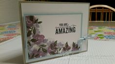 Stampin Up painted petals mother's day card