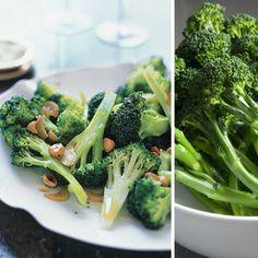 Broccoli With Toasted Garlic and Hazelnuts