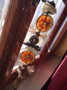 Profumambiente decorativo con arance e cannella