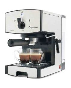 Capresso EC50 Stainless Steel Pump Espresso and Cappuccino Machine