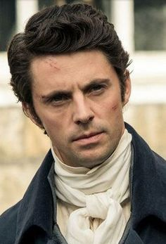 Matthew Goode as George Wickham in Death Comes To Pemberley. I'm not saying he's a good guy...but I understand.