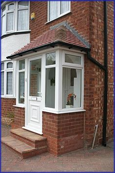enclosed front porch ideas - Google Search                                                                                                                                                     More