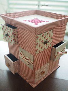 チェックとテディ♡みほちゃんの作品 の画像|Atelier Muguet - Cartonnage-