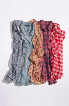 patterned button-downs jcrew