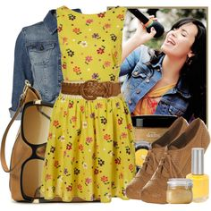 Demi Lovato- Camp Rock 2, created by hannahrox313 on Polyvore