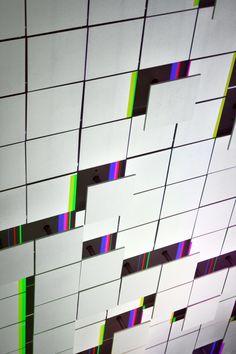 LAb[au]'s m0za1que a kinetic light art installation - designboom   architecture & design magazine