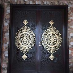 Front Wall Design, Double Door Design, Main Door Design, Window Design, Sweet Home Design, Modern House Design, Iron Gate Design, Iron Balcony, Contemporary Doors