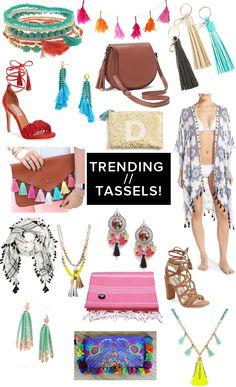 Tassel Trend // fun,