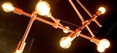 Spotlight, Chandelier, Ceiling Lights, Lighting, Design, Home Decor, Chic, Lush, Homemade Home Decor