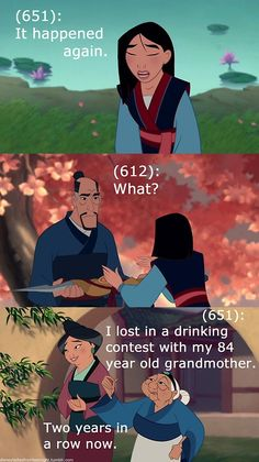 Disney Ladies from Last Night (87208892058) - Mulan drinking contest grandma