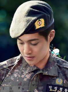 you leave me wordless /  @KHJ_Fans_Club / CONGRATULATIONS TO KHJ(FOR TO GET FIGHTING) PROMOTED AS NCO ABOVE THE FIRST CLASS./21MARCH2016