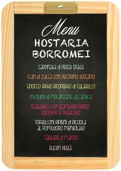 Hostaria Borromei Ordina qui www.bacchetteforchette.it/proposta/61