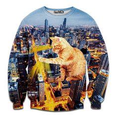 Cat Kong Sweatshirt