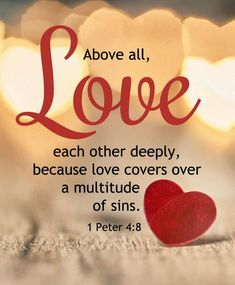 Love one another!!!