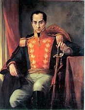 Liberator of the americas. He began the second war of independence form the spanish empire 1819   One Hundred Years of Solitude - Wikipedia, the free encyclopedia