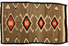 """1940s Navajo Rug, 2'6"""" x 4' on OneKingsLane.com"""